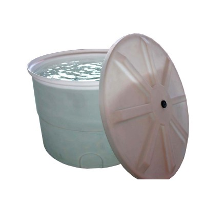 Емкости цилиндрические с отрезной крышкой