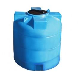 Пластиковая емкость 1000 л с крышкой 380 мм