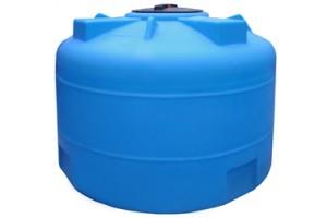 Пластиковая емкость 1500 л с крышкой 380 мм