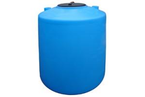 Пластиковая емкость 1600 л с крышкой 380 мм