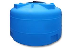 Пластиковая емкость 2000 л для хранения жидкостей плотностью не более 1,0 гр/см3