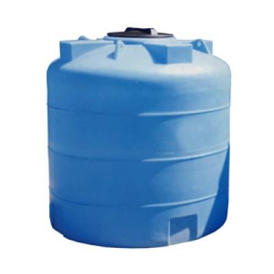Пластиковая емкость 3000 л с крышкой 380 мм