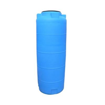 Пластиковая емкость 780 л с крышкой 380 мм