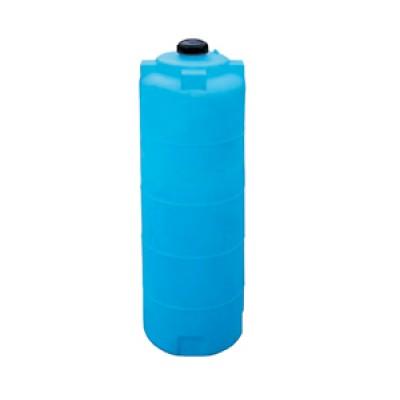Пластиковая емкость 780 л с крышкой 150 мм