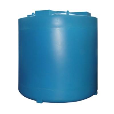 Пластиковая емкость 8000 л с крышкой 540 мм