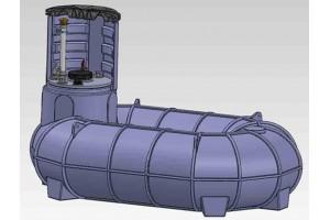 «О-образные» емкости для наземного и подземного хранения жидкостей