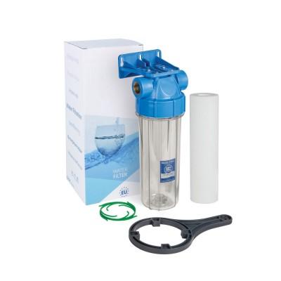 Магистральный фильтр 10SL, с воздушным клапаном, резьба 1 дюйм (FHPR1-B1-AQ)