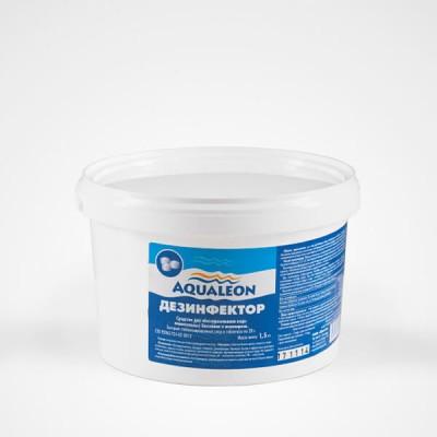 Дезинфектор БСХ (быстрый стаб. хлор в таблетках 20 г) 1,5 кг