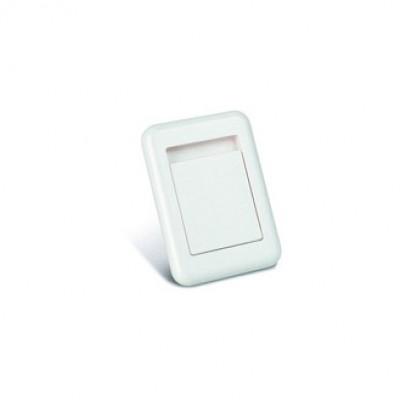 11383 Пневморозетка S-klasse пластик белая