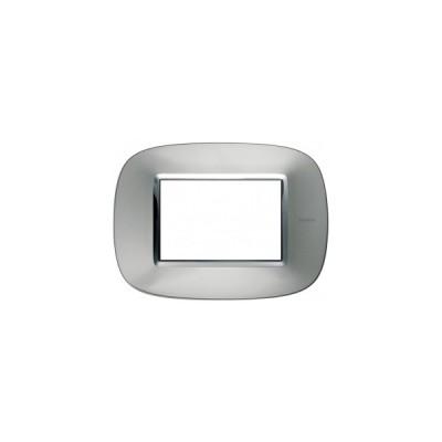 2020114 Пневморозетка E-klasse Bticino Axolute Aluminium