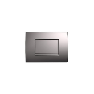 2020122 Пневморозетка E-klasse Vimar Astra пластик серебрянная