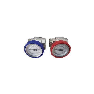 Комплект кранов KG 25TH с термометрами