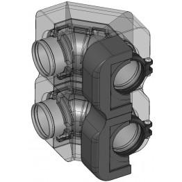 Комплект углового соединения – 2 шт.