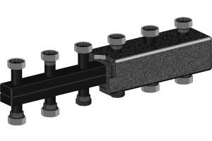 Распределительные коллекторы из черной стали