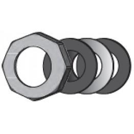 Накидная гайка в комплекте с уплотнением для подключения циркуляционных насосов DN32