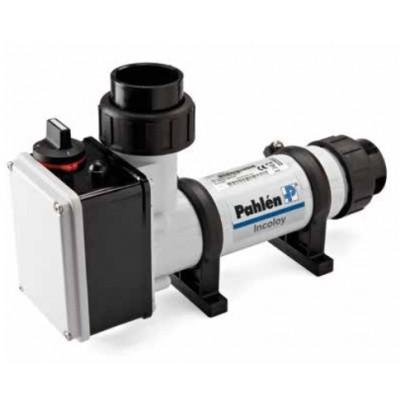 Электронагреватель пластиковый 6 кВт, датчик потока, термостат 0-45С, защ. от перегр.