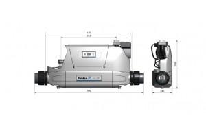 Теплообменник Aqua-Mex AM-FE 40, 40 кВт, спираль сталь 316L