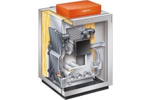 Низкотемпературный газовый водогрейный котел Vitogas 100-F