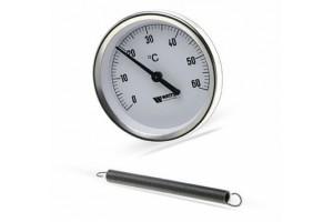 Термометр F+R810 TCM (TSS) биметаллический накладной на трубы